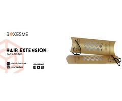 Get Custom Hair extension packaging for your Loved Ones