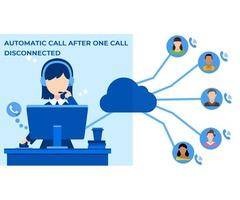 Dial the call automatically and previous customer record