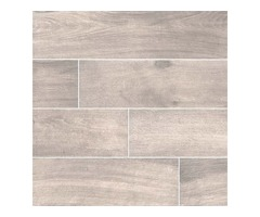 Shop For Cottage Smoke 8x48 Matte Wood Look Porcelain Tile