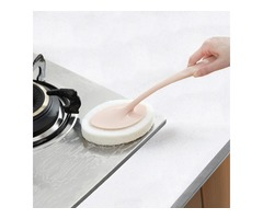 Honana Home Multifunctional Long Handle Dismountable Hook and Loop Design Sponge Cleaning Brush
