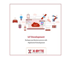 Best Top Rated IoT App Development Company In USA | X-Byte Enterprise Solutions