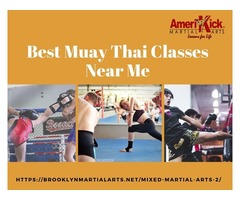 Get the Best Muay Thai Classes in Brooklyn