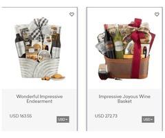 Send Christmas Gift Baskets to USA