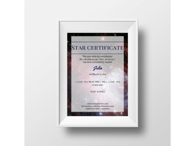 Buy name a star | free-classifieds-usa.com