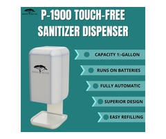 Raintree P-1900 Dispenser | Best Hand Sanitizer