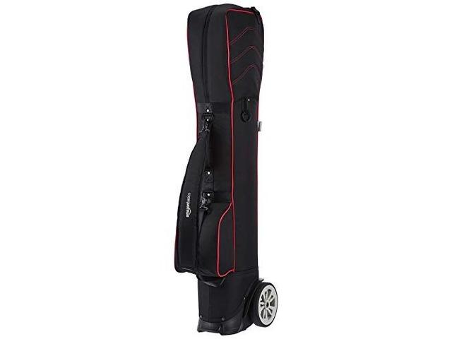 Amazon Basics Wheeled Golf Club Travel Bag – Red | free-classifieds-usa.com