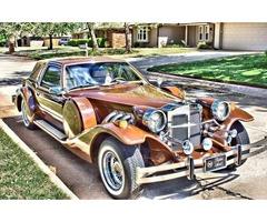 1982 Zimmer Golden Spirit neo-classical car