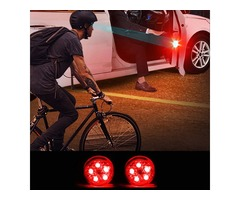 Universal Wireless LED Car Door Opening Warning Signal Light Safety Flash Lamp Anti-collision Waterp