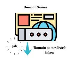 Brandable Domains for Sale