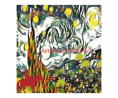 The Starry Night  -- Man on the Horse
