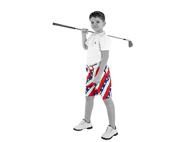 Royal & Awesome Kids Bright Funky and Funny Golf Shorts. | free-classifieds-usa.com
