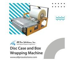 Disc Case and Box Wrapping Machine