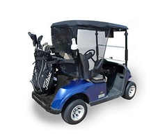 Madjax 01-001 Genesis 150 Rear Flip Seat Kit for 2004-Up Club Car Precedent Golf Carts Buff Cushions | free-classifieds-usa.com