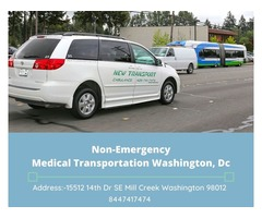 Non-Emergency Medical Transportation Washington, Dc