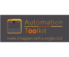A tool for creating programmable buttons Automation Toolkit, After Effects automation.