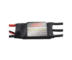 AGF Athlon Run A30 Mini 30A 2-4S Lipo Brushless ESC With 5V 2A BEC For RC Helicopter Airplane