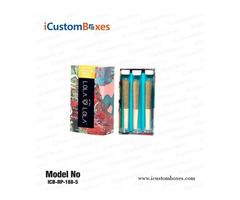 Custom Pre Roll Joint Packaging with Free Shipping at iCustomBoxes