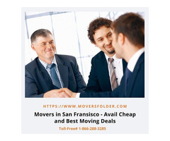 Movers in San Francisco - Avail Cheap and Best Moving Deals