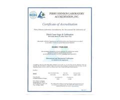 17025 Certified