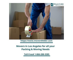 Movers in Los Angeles for all your Packing & Moving Needs
