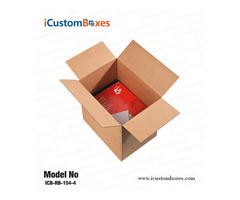 Get persuade Custom book boxes wholesale at icustomboxes