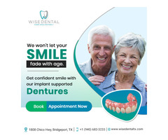 Affordable Dentures and Exceptional Service At Wise Dental