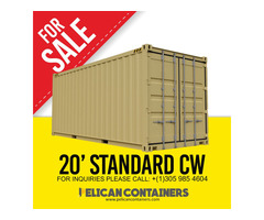 Buy Shipping Containers | Used Container for Sale in Orlando - Pelican Containers | free-classifieds-usa.com