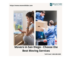 Movers in San Diego - Choose the Best Moving Services