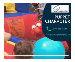 Puppet Character | Party Characters Orange County
