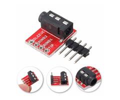 50pcs 3.5mm Plug Jack Stereo TRRS Headset Audio Socket Breakout Board Extension Module