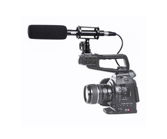 BOYA BY-VM1000 Camera Mounted Stereo Condenser Shotgun Microphone For DSLR Camera Camcorder