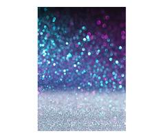 1.5x2.1m 5x7ft Purple Dream Spots Vinyl Studio Photography Backdrop Props Background
