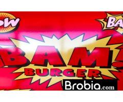 Bam! Burger  in Mattituck
