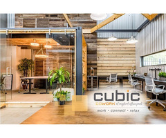 Small Business Office Space Spring | Cubic-cowork