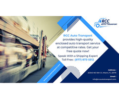 Best Auto Relocation Services by RCC Auto Transport