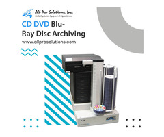 Automated CD DVD Blu-Ray Disc Archiving System