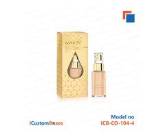Get Elegant and Stylish Custom Foundation Boxes at iCustomBoxes