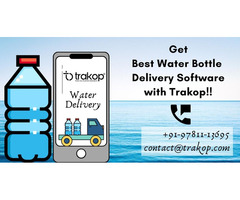 Bottled Water Delivery Software - Trakop