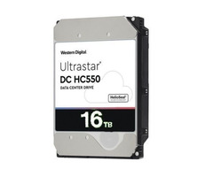 Western Digital WUH721816AL5201 DC HC550 16Tb SAS Ultra 512e TCG P3 7200RPM 512Mb 3.5-In Hard Drive