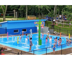Spray Features | Water Spray Park Equipment Services in USA