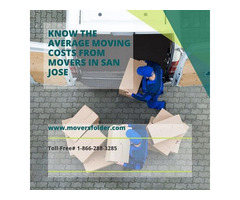 Know your Average Moving Costs from Movers in San Jose