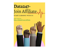 Earn With Us- Data247 | Data247