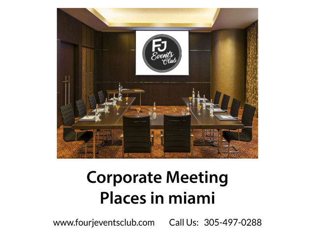 Corporate Meeting places in miami | free-classifieds-usa.com