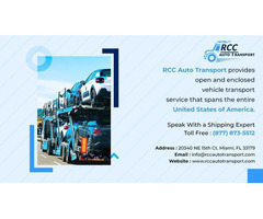 RCC Auto Transport - Leading Auto Transport Company in USA