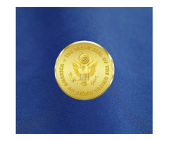 The Flag of Freedom Challenge Coin....The Ultimate American Collectible!