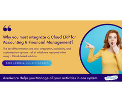 Feature rich Cloud ERP for financial industry to boost business operation