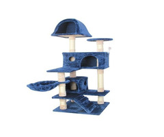 60% Price off 51 inch CUPETS Cat Tree Pet Furniture Cat Condo with House