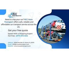 Best Vehicle Transportation tips by RCC Auto Transport