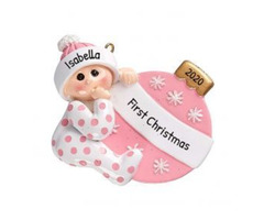 Personalized Toddler Ornaments