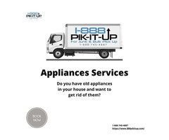 Get rid of old appliances | 888 pikitup